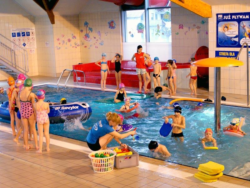Zajęcia pływackie dla szkół i przedszkoli