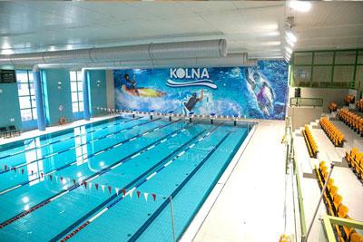 nauka pływania Kraków basen Kolna